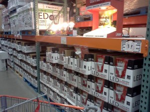 LED lights at Costco